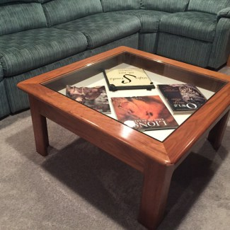 Coffee Tables Stiglers Woodworks Cincinnati OH - 36 inch square glass coffee table