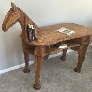 Stand-Up Horse Desk
