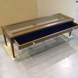 Display Table with Drawer