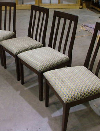 Contemporary Slat Back Chair