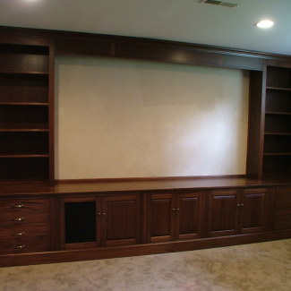 Home Theater Cabinetry