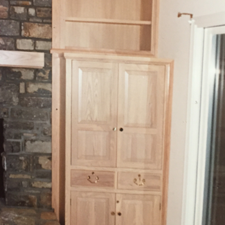 Fireplace Cabinetry