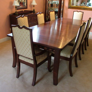 drl 113 contemporary dining set dining room table shown to seat 10