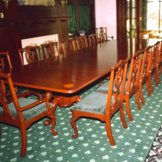 Hand Carved Chippendale Dining Room Set