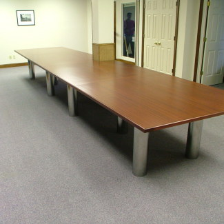 Custom Cabinetry Stiglers Woodworks Cincinnati OH - 5 ft conference table