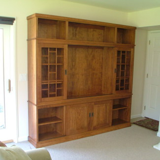 Arts & Crafts TV Cabinet