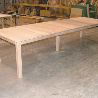 Unfinished Rectangular Table