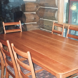 Cherry Farm Table