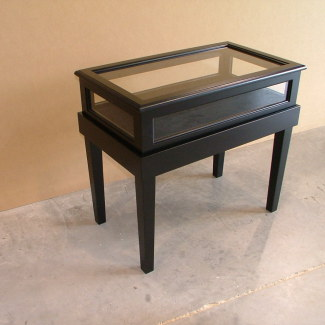 Black Display Table