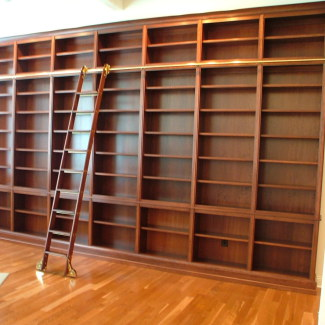 Custom Bookshelves | Stigler's Woodworks | Cincinnati, OH